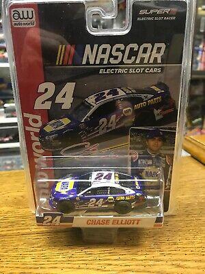 NIP AUTOWORLD #24 CHASE ELLIOTT NAPA AUTO PARTS NASCAR SLOT CAR