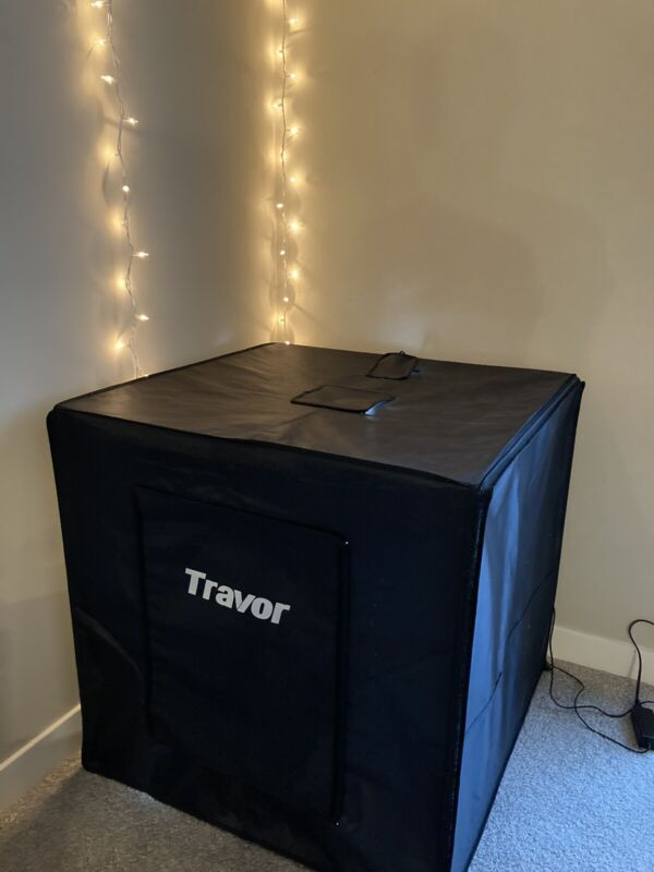 """LED Portable Professional 34""""x34"""" Photo Booth Light Tent"""