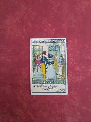 """Ancienne petite  Carte Publicitaire """"Torréfaction de Cafés"""" Maison Bouchez"""