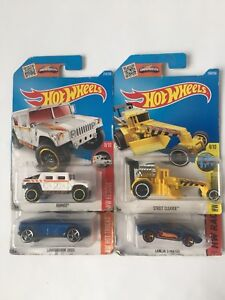 X4 sealed hot wheels cars (authentic hot wheels cars)