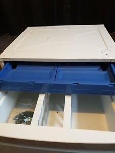 Laundry  drawer  under  front  loader