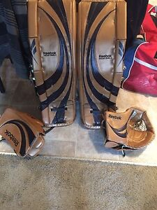 Goalie Pads and equipment