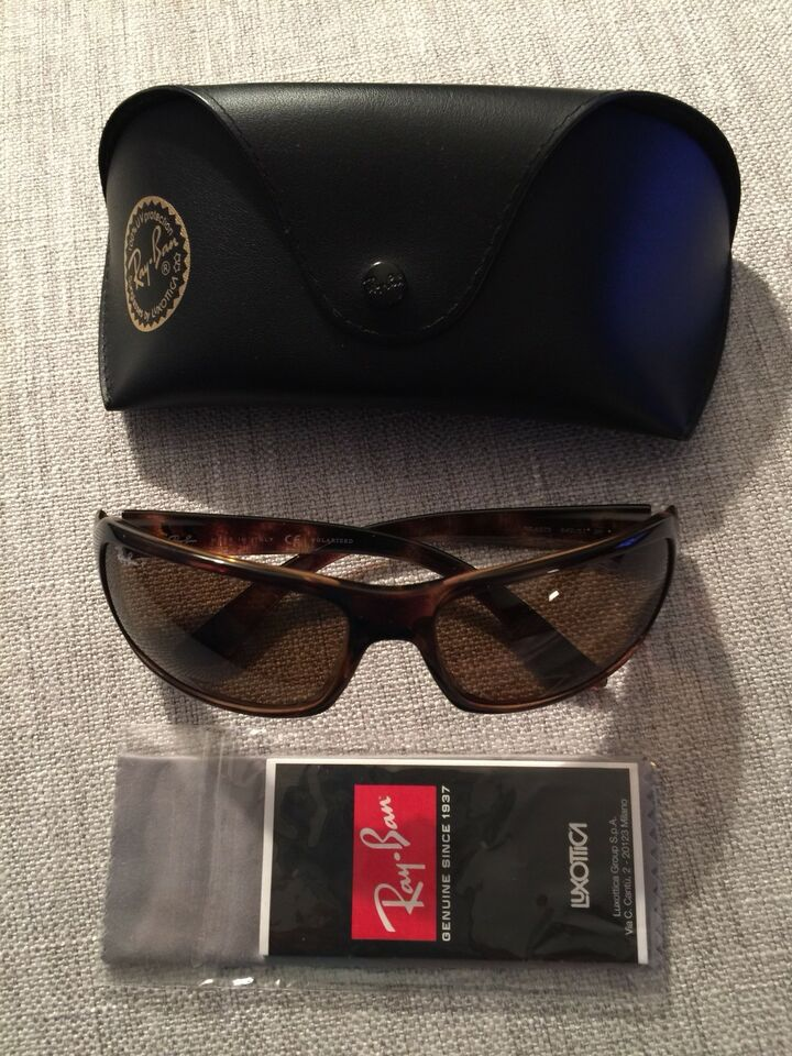 574023d948 Polarized brown tortoise Ray-Ban RB 4075 Brand New