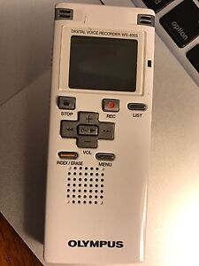 Digital voice recorder ws-400s