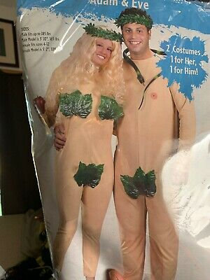 adam and eve men's women's halloween costumes NEW never worn set of 2 ](Halloween Costumes Eve)