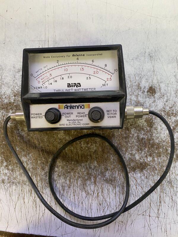 Bird Thruline Wattmeter Antenna Incorporated