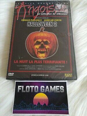 DVD ZONE 2 FR : Halloween 2 - Jamie Lee Curtis - Horreur - Floto Games