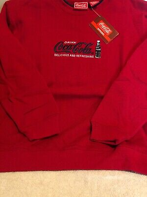 Coca Cola Sweatshirt Embroidered