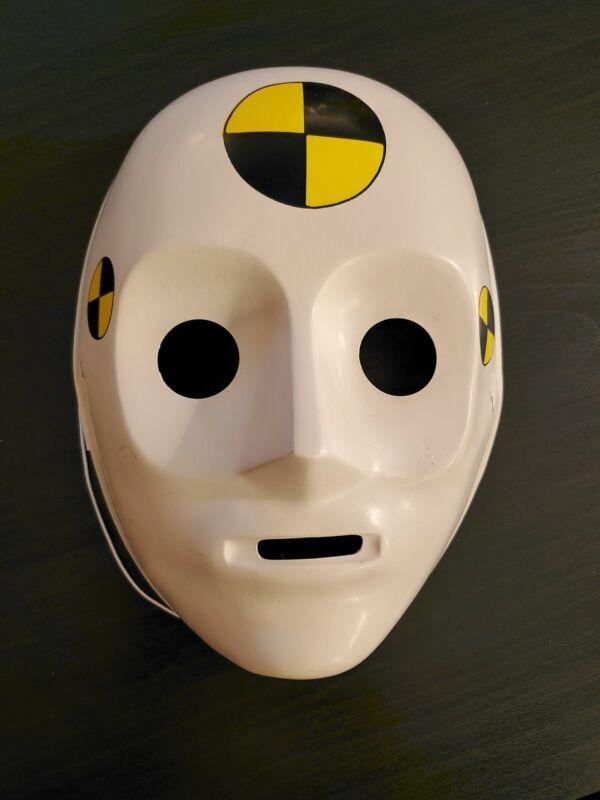 Vintage 1992 Crash Test Dummies Tyco Halloween Mask Rubies