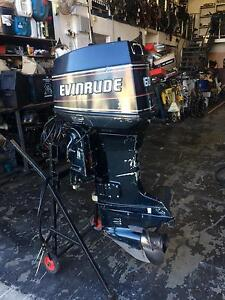60hp evinrude just been serviced in vgc Burleigh Heads Gold Coast South Preview
