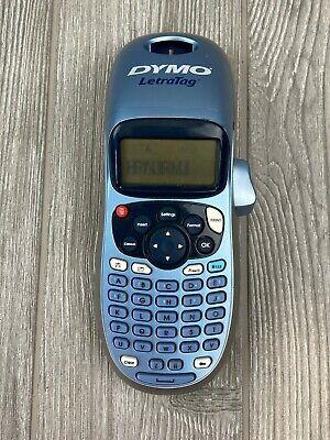 Dymo Letratag Handheld Portable Electronic Labeler Label Maker Works Great