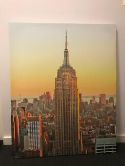 New canvas of New York Skyline