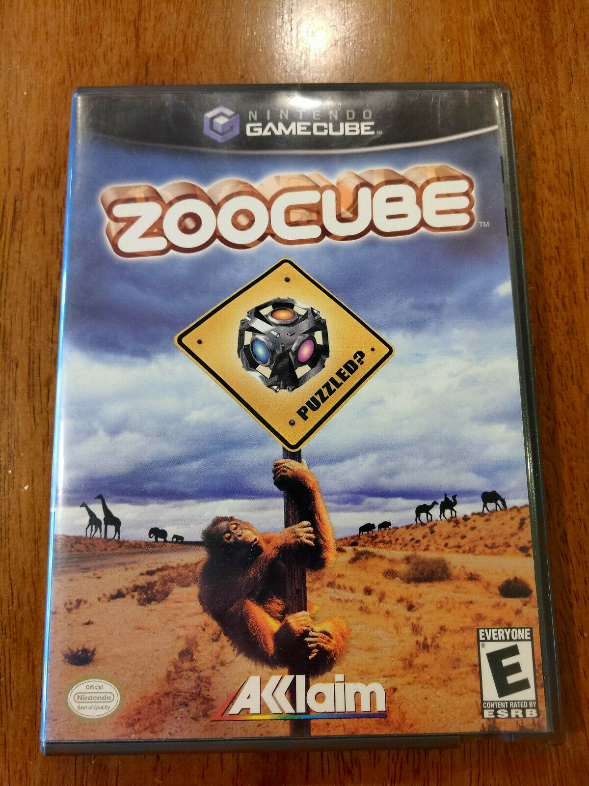ZooCube (Nintendo GameCube 2002) VERY GOOD W/MANUAL! NO SCRATCHES! MAIL TOMORROW