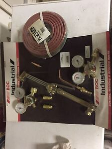 Oxygen and Acetylene Torches