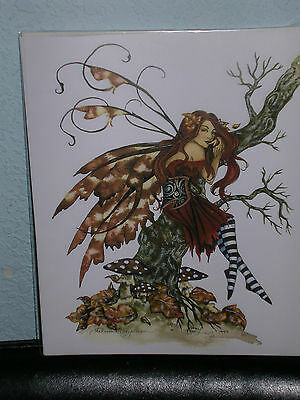 Amy Brown - Autumn Daydream - OUT OF PRINT - RARE
