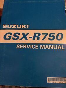 2000-2003 Suzuki GSXR750 Service Manual Regina Regina Area image 1