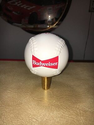 Budweiser Baseball / Softball Tap Handle