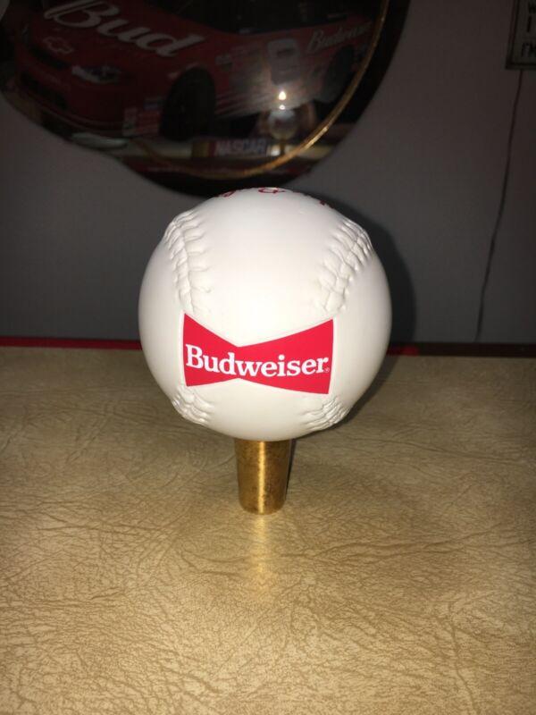 Budweiser Baseball / Softball Tap Handle