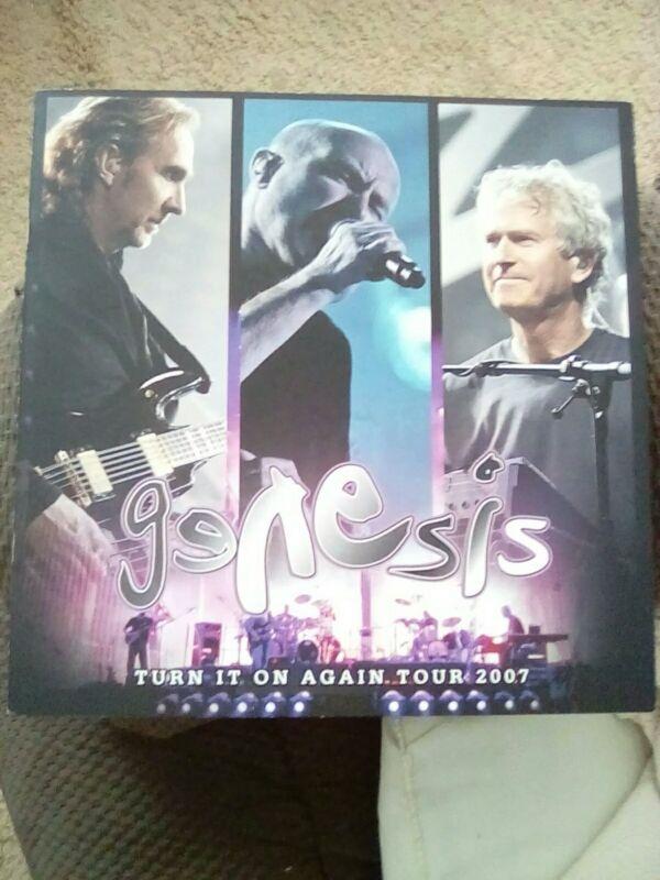 Genesis tour book 2007