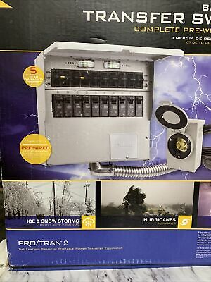 Reliance Controls Protran 2 - 30-amp Power Transfer Switch Kit New