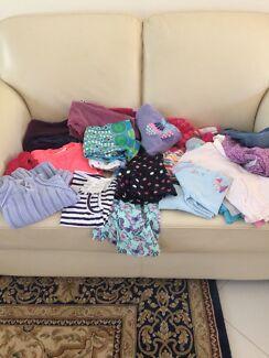 Girl clothing Sz 4 - 6 dress jeans skirt cardigans