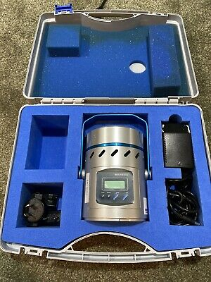 Emd Millipore Mas-100 Eco Portable Microbial Air Sampler With Case Msrp 6580