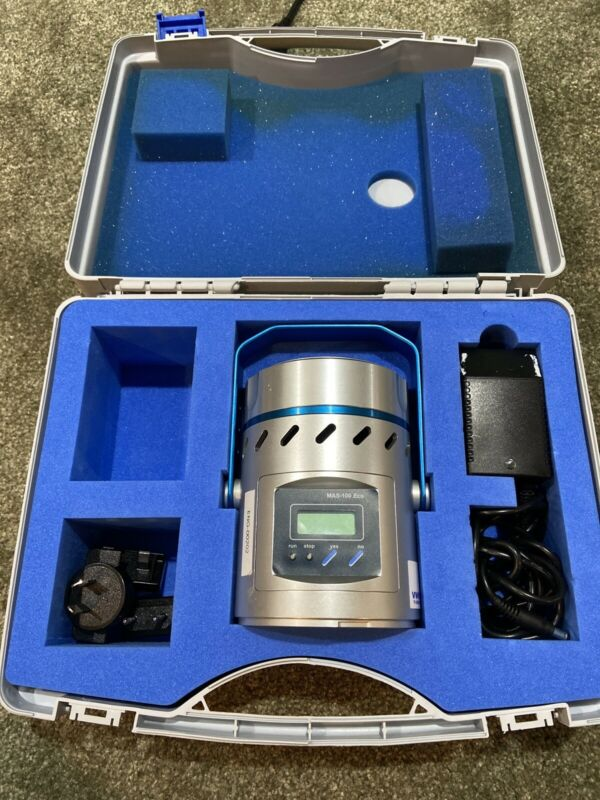 EMD Millipore MAS-100 Eco Portable microbial air sampler With Case MSRP: $6580