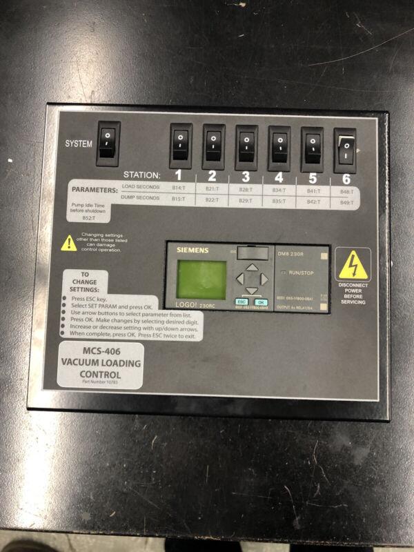 Novatec MCS-406 Vacuum Loading Control