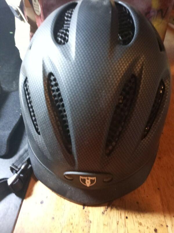 TIPPERARY EQUESTRIAN Sportage Equestrian-Helmets medium  black preowned no box