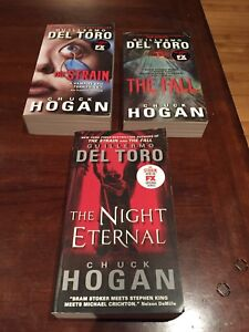 THE STRAIN BOOKS