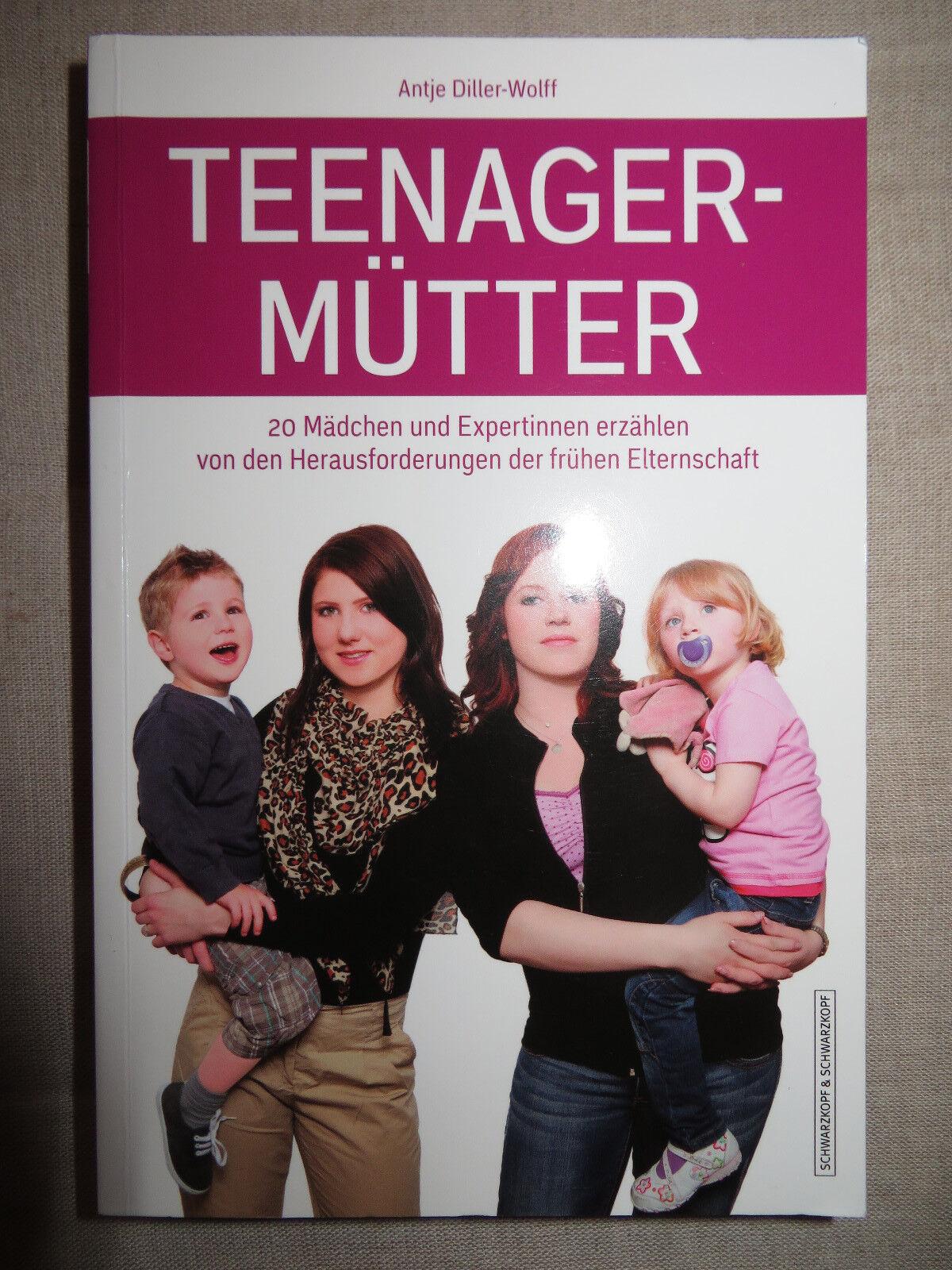 Buch Teenager Mütter, Herausforderungen der frühen Elternschaft