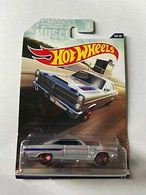 2016 Hot Wheels 1966 FORD FAIRLANE VINTAGE AMERICAN MUSCLE 10/10 Mint