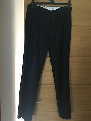 JOSEPH black smart tailored trousers - size 38/10