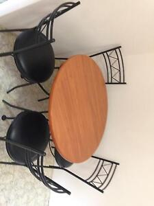 Dining table and chairs Cronulla Sutherland Area Preview