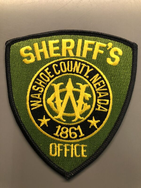 Washoe County Nevada Sheriff Patch ~ New Condition