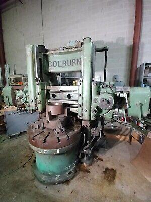 Colburn 42 Vbm Check Out Those Ways Vertical Boring Mill Vtl Bullard