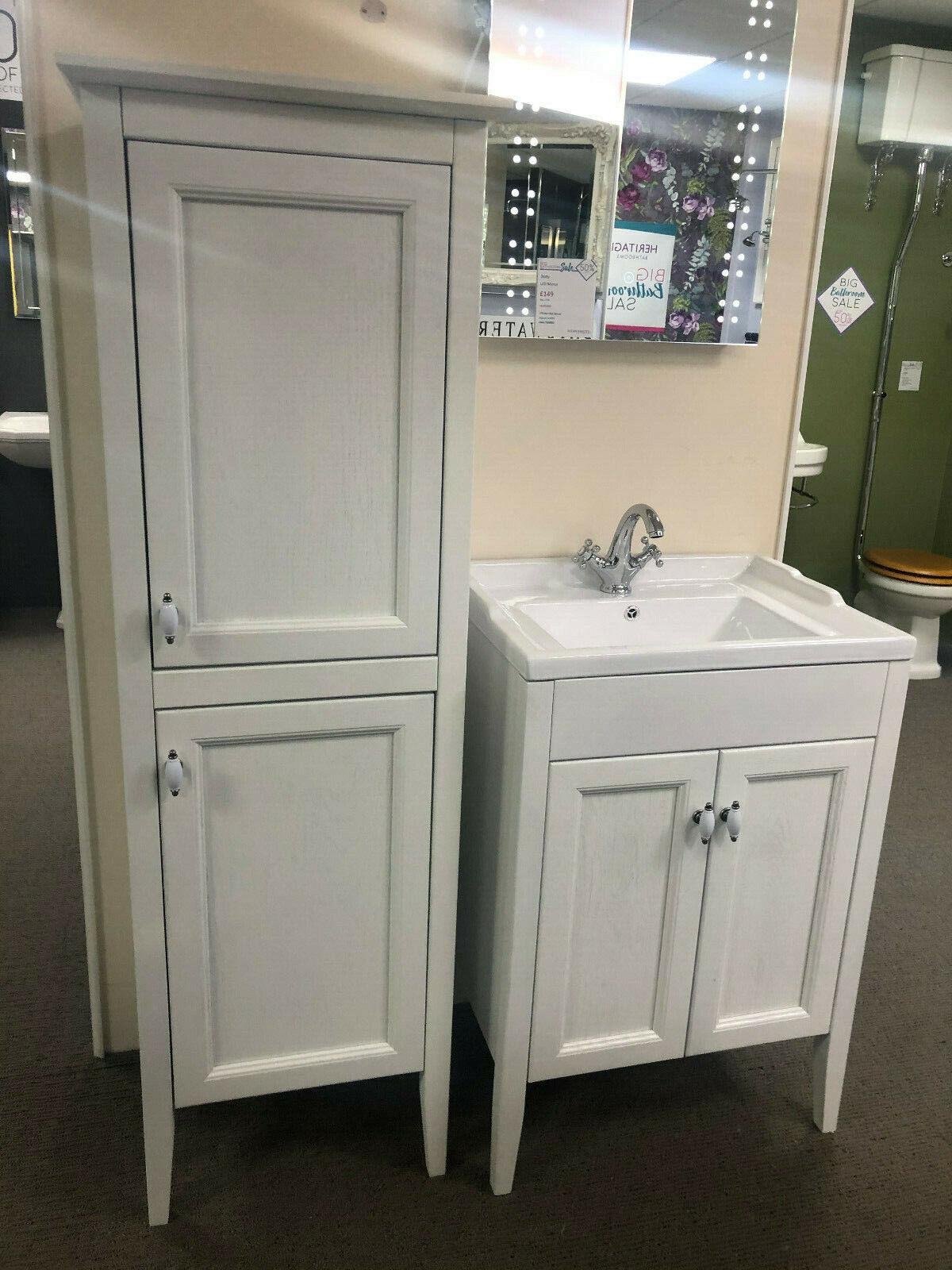 Bathroom Tallboy Storage Cupboard