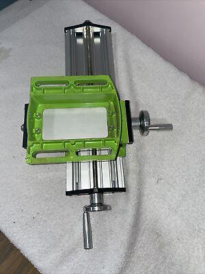 Mini Milling Machine Work Table Vise Portable Compound Bench X-y 2 E