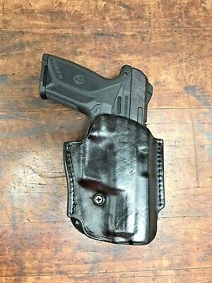 Ruger Security 9 with Viridian Laser Paddle Holster #65524