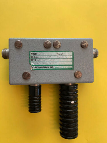 TxRx UHF 450-470Mhz Dual Circular Directional Coupler / Isolator with loads