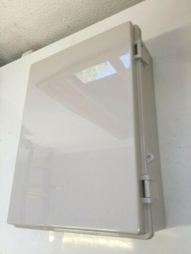 Oberon 1024-00 Indoor / Outdoor Wall Mount Enclosure Cabinet New In Unopened Box