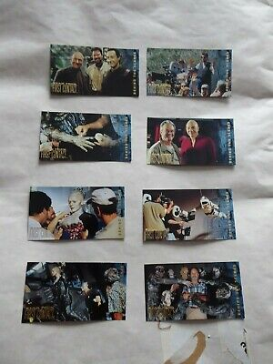 Star Trek First Contact BEHIND THE SCENES trading cards 8 of  10