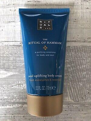 (19,86€/100ml) Ritual Of Hammam Körpercreme Soul Uplifting Body Cream 70ml