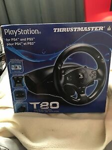 Volant Thrustmaster T-80 PS3/PS4