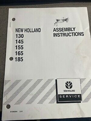 New Holland Manure Spreader Assembly Instructions Manual 87390564
