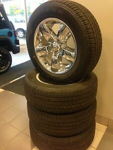 275/60R20 WHEELS AND TIRES
