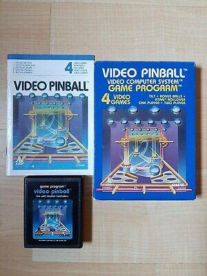 Atari 2600 Video Pinball CIB (video games)
