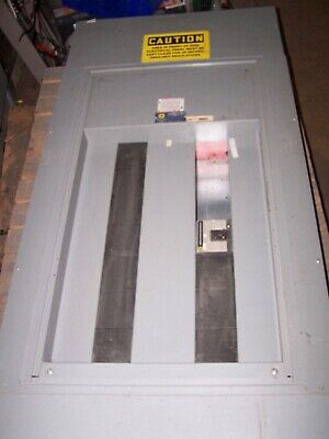 Square D 400 Amp Main Lug I-line Panelboard 480 Vac 3 Phase W 20 Amp Breaker