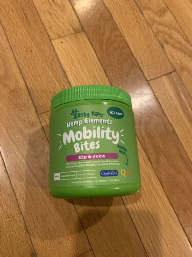 Zesty Paws Mobility Bites For Dogs With Hemp - Hip Joint Dog Supplement - $25.00