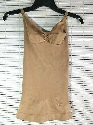 Julie France JF009 Cami Shaper Nude 2X Shapewear Adjustable Straps NWT